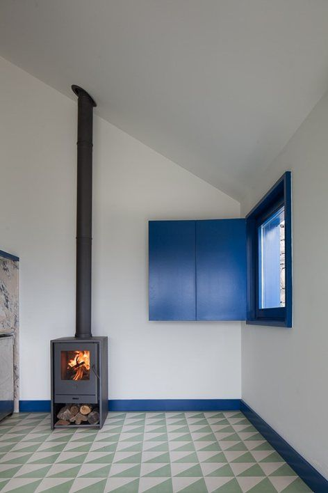 35 Best Images About Exposed Flue On Pinterest Stove