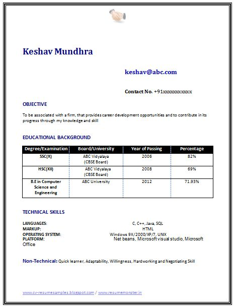 1000 ideas about resume objective sample on pinterest