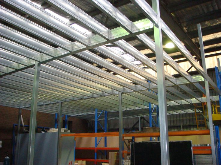 Boxspan Steel Mezzanine Floor Frame From Our Factory In