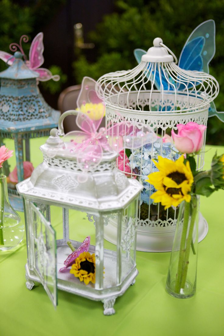 Fairy Birthday Party, adult table centerpieces or cute for