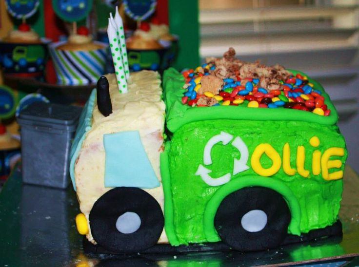 Garbage Truck Cake Cake 2 The Rescue Cake Kits