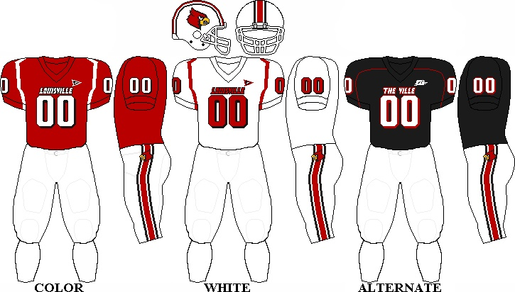 Louisville Cardinals Football Team Uniforms GO CARDS