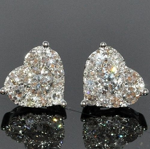 Chanel heart-shaped diamond earrings ~ 35 Pieces Of Gorgeous Jewelery – Style Estate