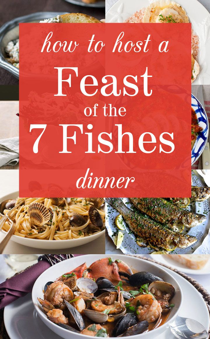 How to Host a Feast of the Seven Fishes Dinner Christmas