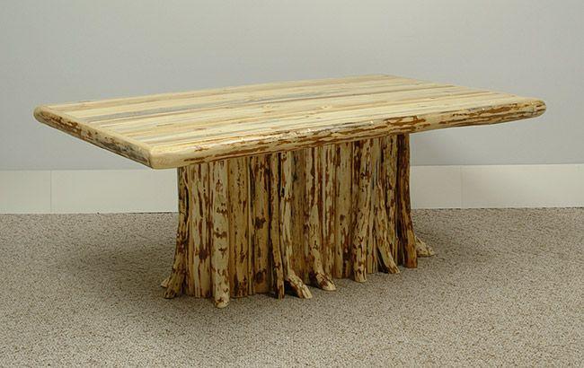 Tree Limb Hinged Table Legs