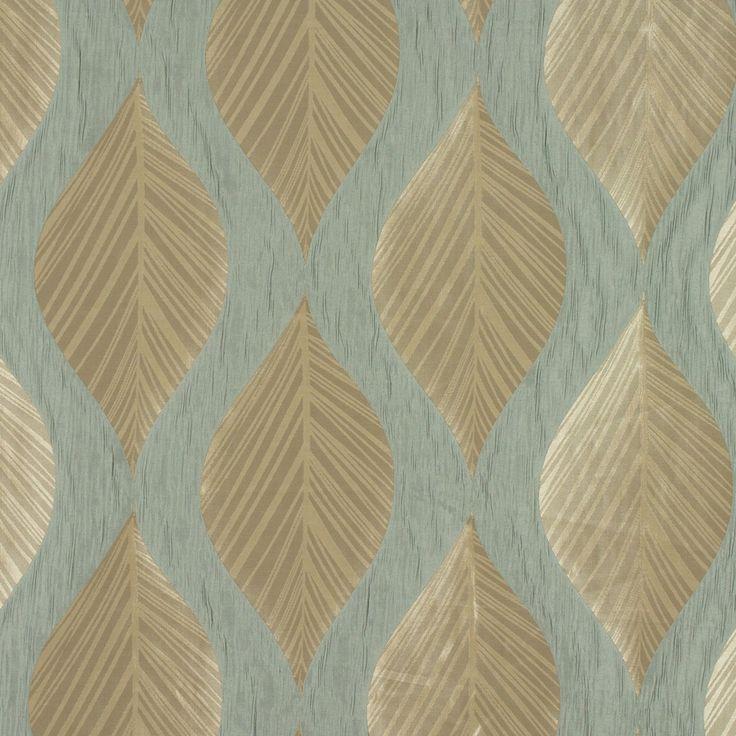 Botinia Duck Egg Curtain Fabric By Ashley Wilde Curtain Fabrics Curtains Pinterest