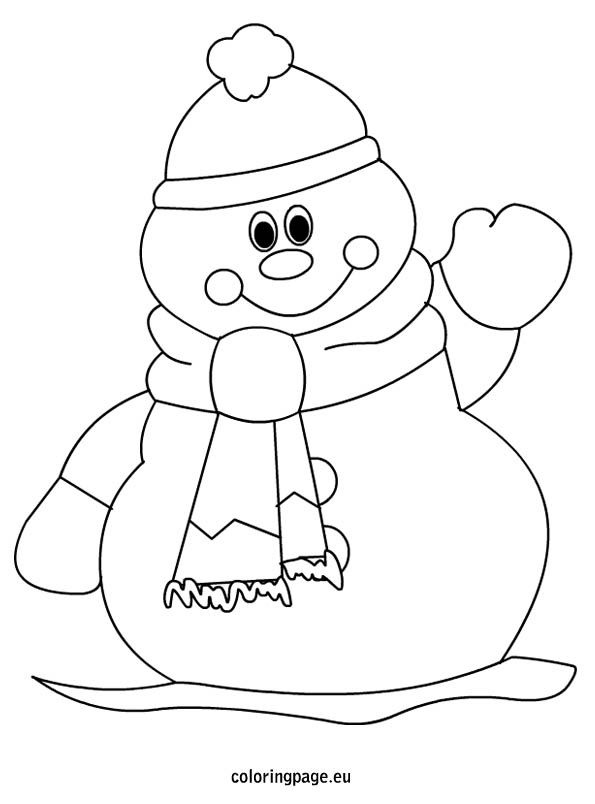 1000 ideas about snowman coloring pages on pinterest