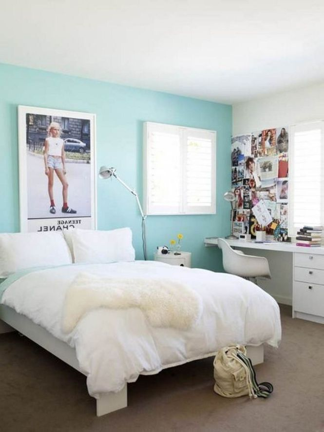 Bedroom Calming Blue Paint Colors For Small Ideas