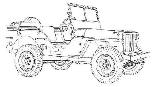 jeep cars jeeps and coloring pages on pinterest
