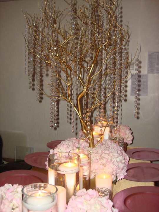 17 Best Ideas About Bling Wedding Centerpieces On