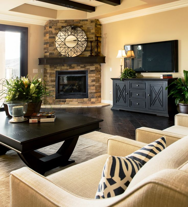 Family Room – BDG Style: Home Staging Project: Orange County, CA | Photo by Ryan B