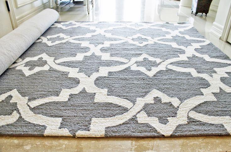 Wooden Floor Mix, Grey Trellis Nedelya Rug, Ikea Rugs
