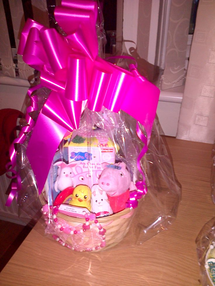 PEPPA PIG EASTER BASKET Baskets Pinterest Baskets