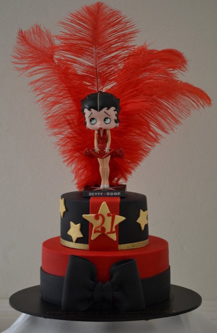 Southern Blue Celebrations Betty Boop