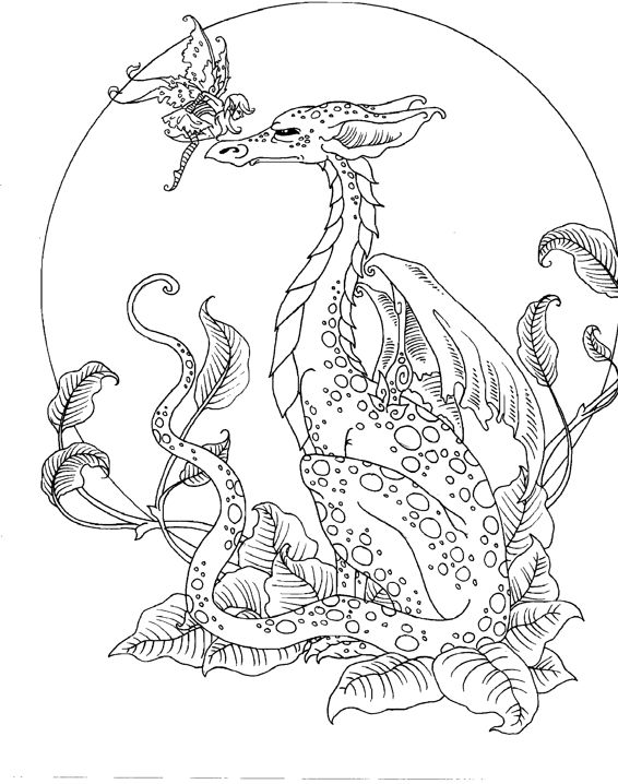 Pixie coloring page | Free Printable Coloring Pages | 718x566