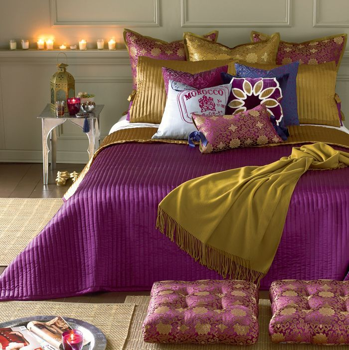 Decoholic 禄 40 Moroccan Themed Bedroom Decorating Ideas