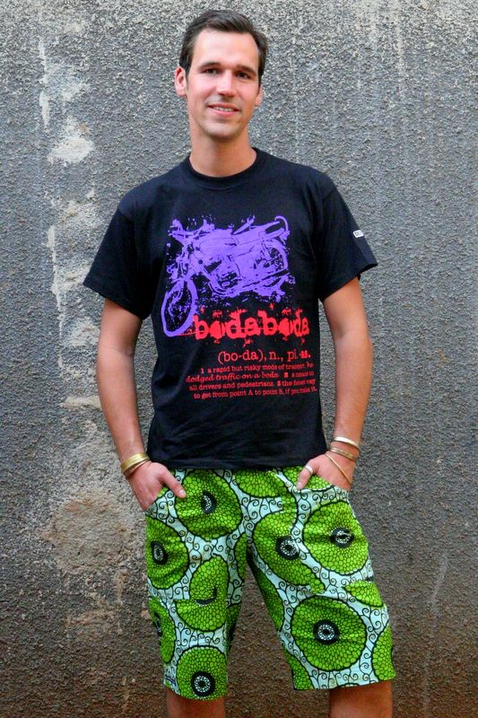 Image result for ankara short for Men