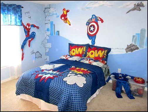 iron man bedroom decor - bedroom style ideas