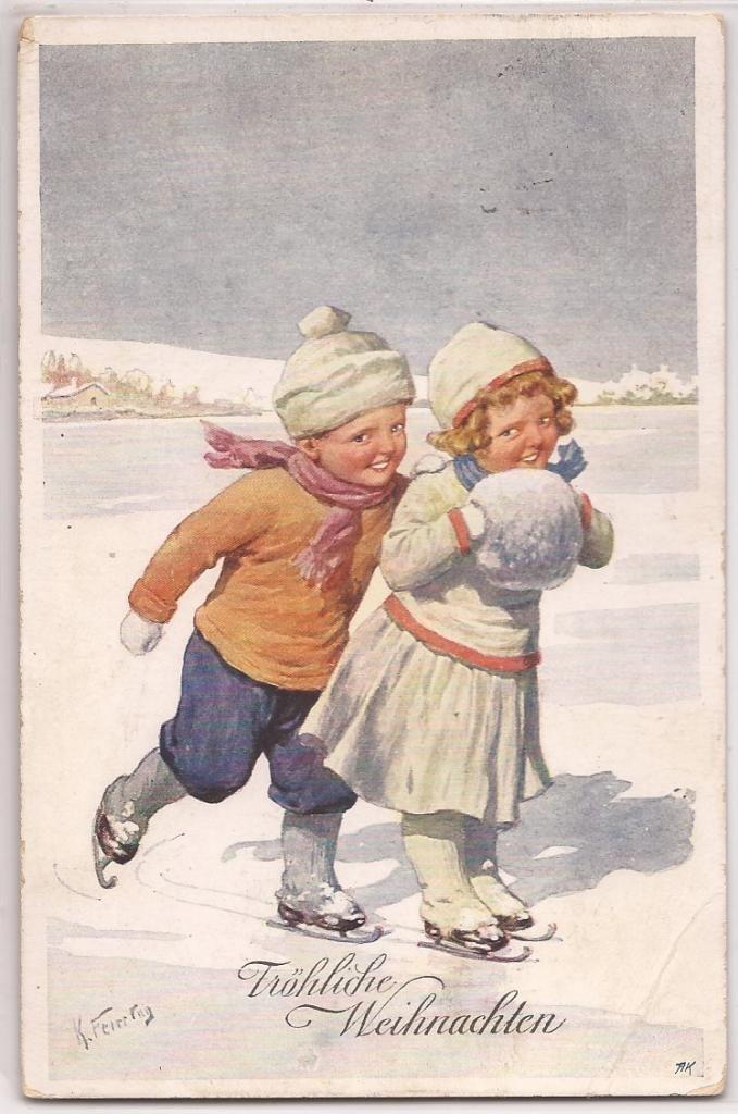 17 Beste Afbeeldingen Over Vintage Winterpret Op