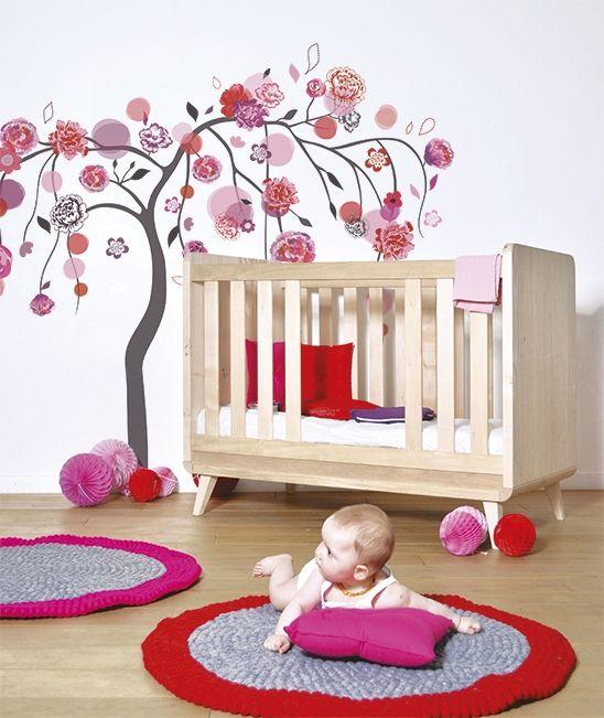 Chambre Ado Fille Maison Du Monde Sticker Arbre Rose Et