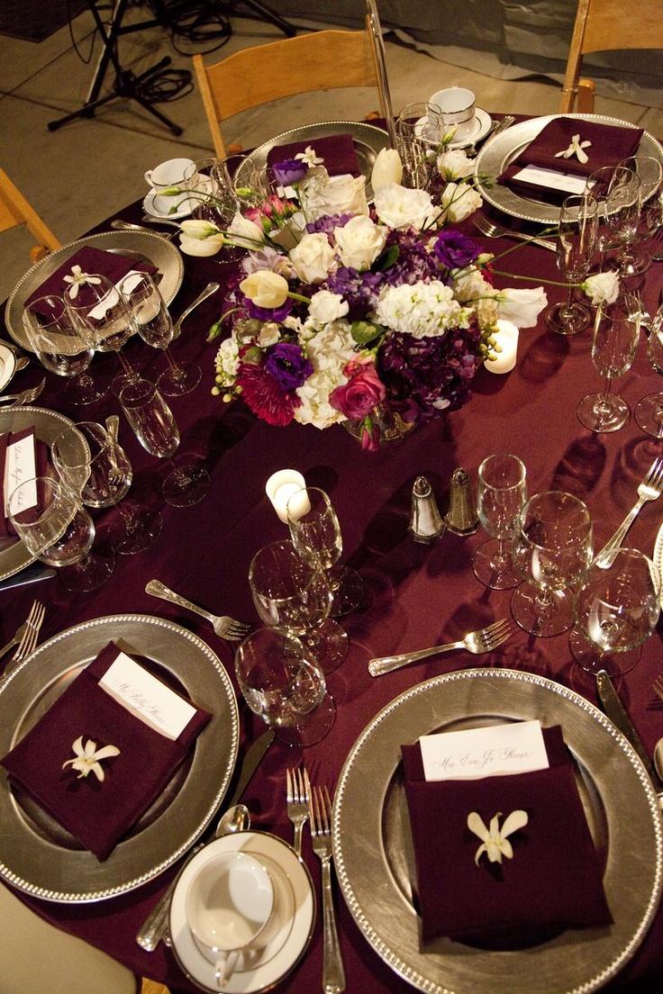 17 Best Ideas About Burgundy Silver Wedding On Pinterest