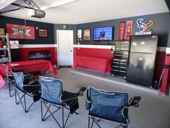 Houston Texans Garage Man Cave Pinterest Old Houses