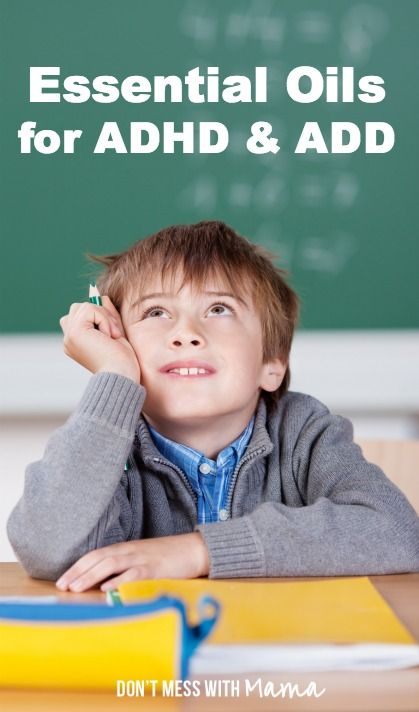 Essential oils for adhd or