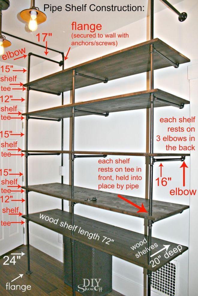 Diy show off construction tutorials and shelving