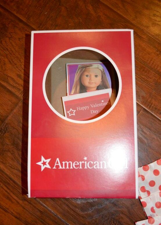 American Girl Valentines Box Just The Box A Doll Came In