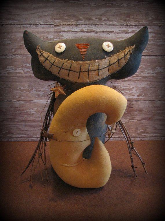 17 Best Ideas About Primitive Halloween Decor On Pinterest