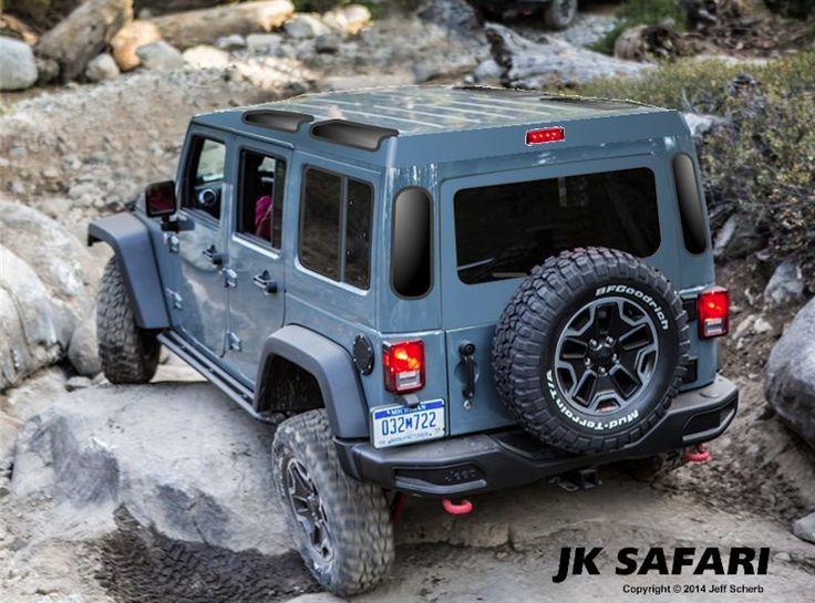 JK Safari Cab Jeep Pinterest Safari