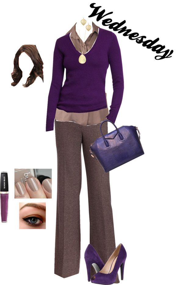 """Working Outfit – Wednesday"" by monicaprates on Polyvore"