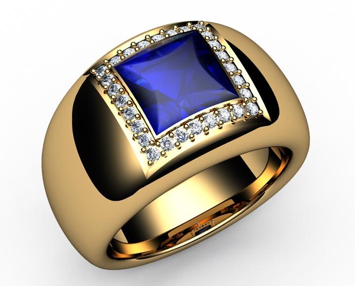 178 Ct 18K Gold Diamonds Amp Princess Cut Strong Vivid