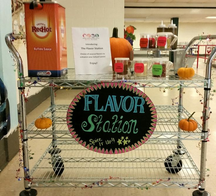 Flavor Station at BMHS!! School LUNCHES That Rock