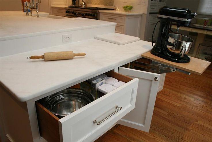 Olga Adler Interiors Kitchens Marble Kitchen Island