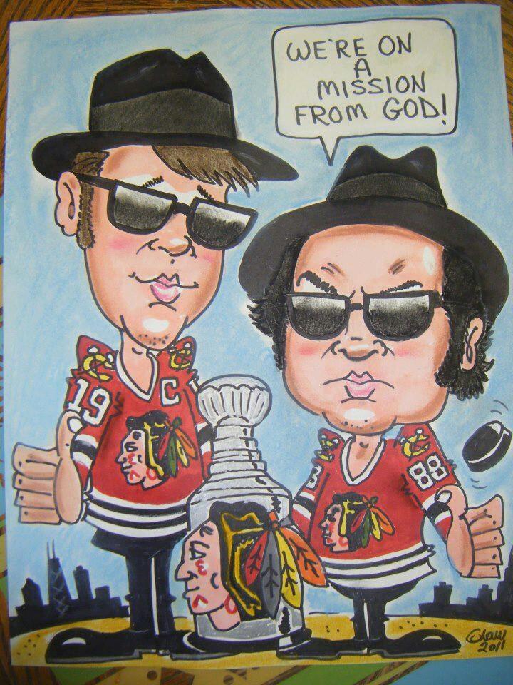 Go Blackhawks! I love this picture! CHICAGO BLACKHAWKS