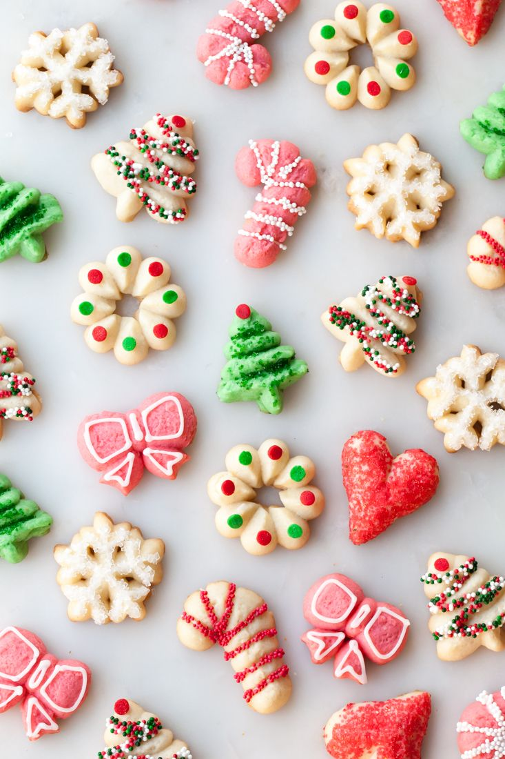 How To Decorate Spritz Christmas Cookies