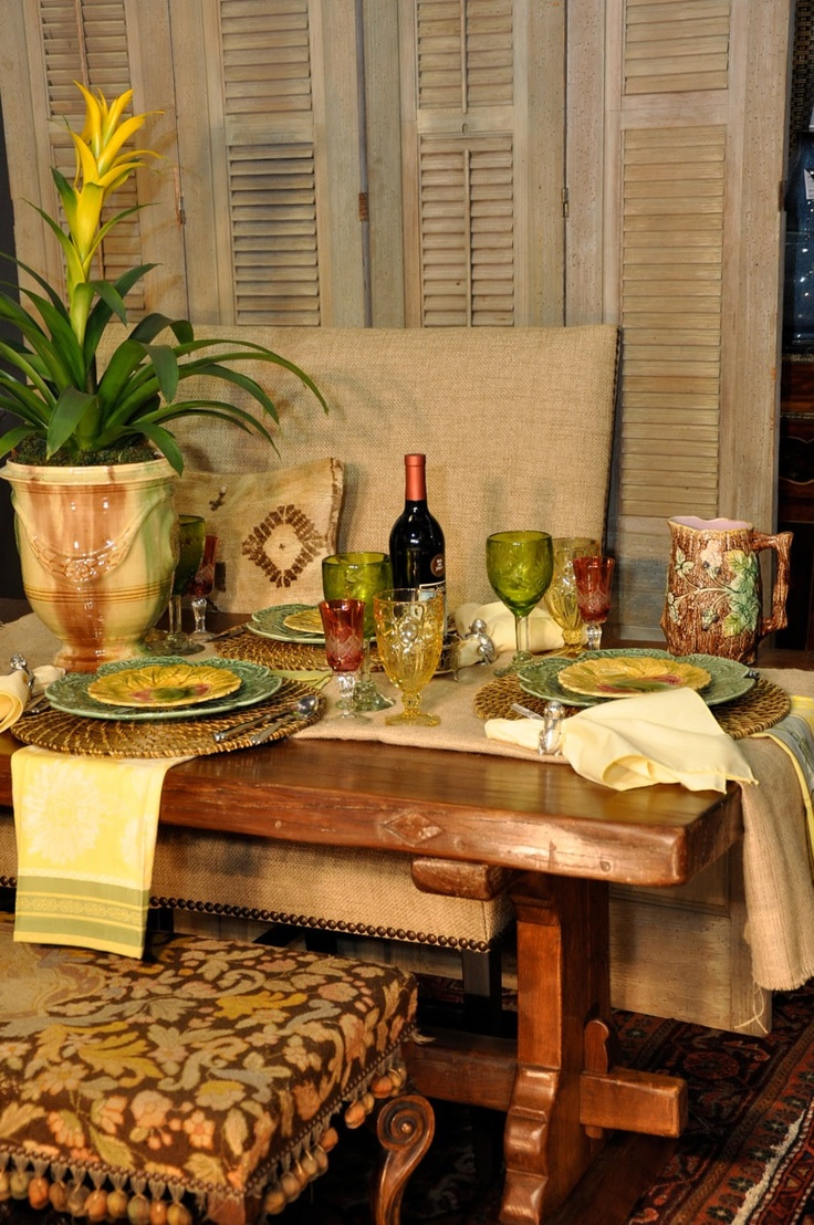 56 Best Images About French Country Tablescapes On
