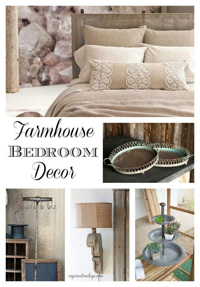 Farmhouse Bedroom Decor Coats, Lamps and Farmhouse bedrooms
