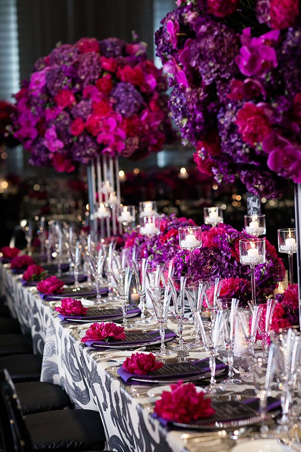 827 Best Images About Bright Pink To Fuchsia Weddings On