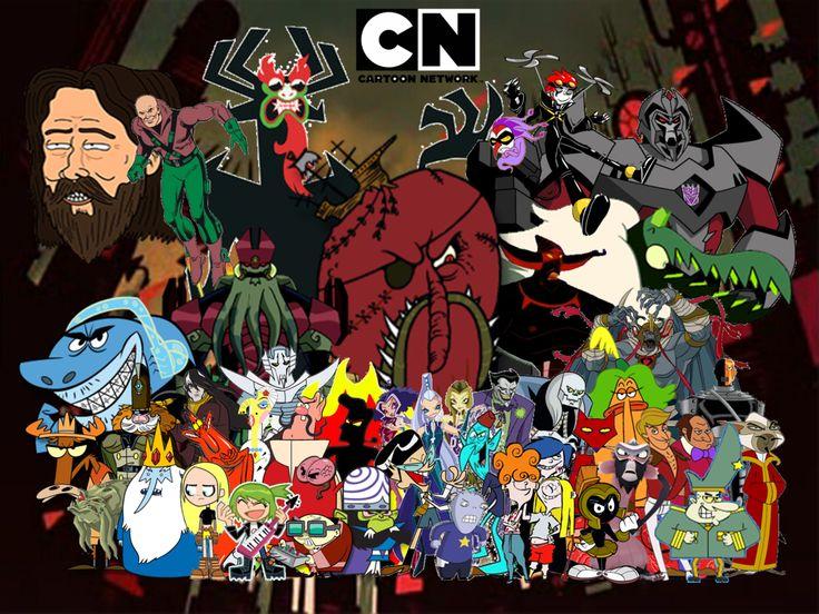 Cartoon Network Villains Halloween 2014 by hooon