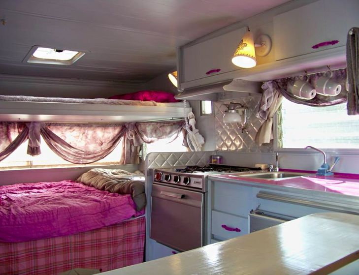 An Interior Image Of The Vintage 13 Aristocrat Travel