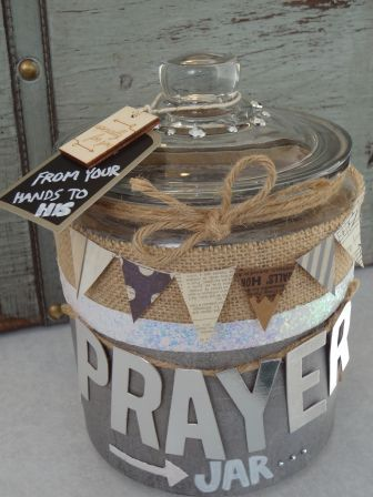 Such a good idea to remind us to give our worries to Jesus and leave them there!