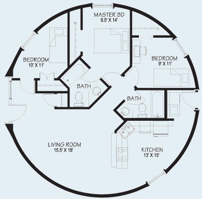 3 Bedroom Yurt Floor Plans Www Redglobalmx Org