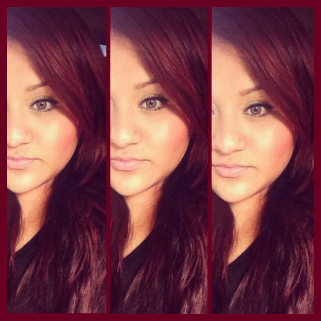 Fall Red Hair Red Auburn Brown LOreal HairMake Up