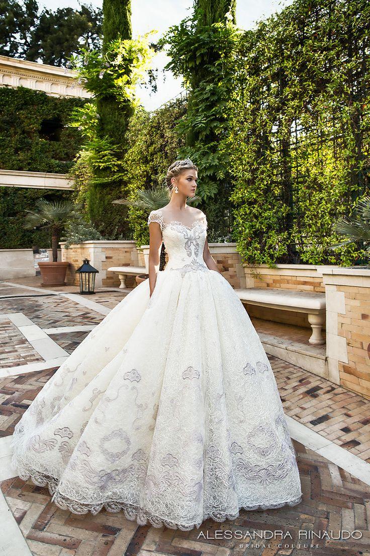 Alessandra Rinaudo 2017 Wedding Dresses Gorgeous Italian