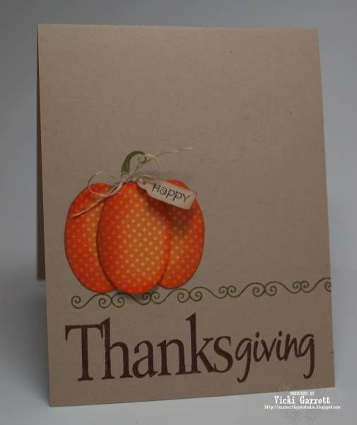 CAS137 Happy Thanksgiving by summerthyme64 – Cards and Paper Crafts at Splitcoaststampers