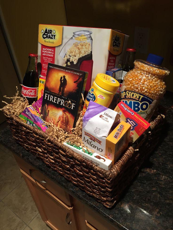 25 Best Ideas About Movie Night Basket On Pinterest