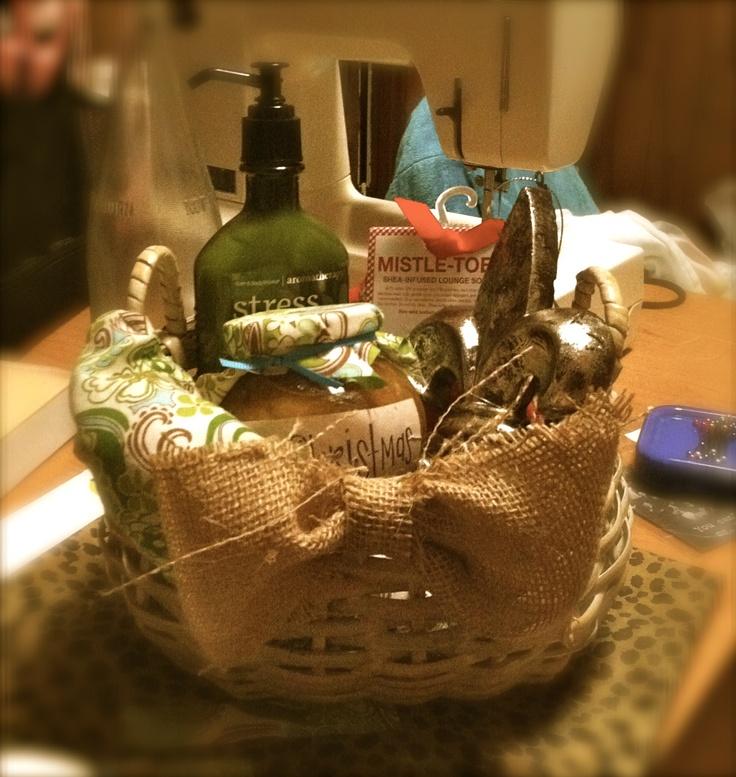 stress free basket ladies crafts ideas!!! Pinterest