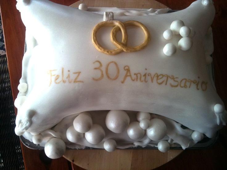 Feliz 30 Aniversario Christening Amp Anniversary Cakes
